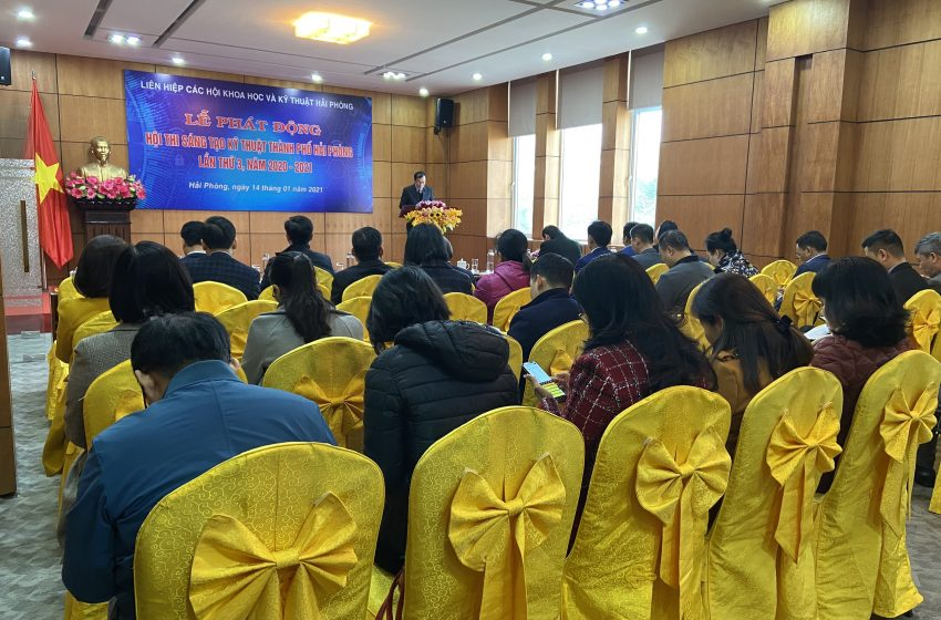 Registration form Hai Phong city technical innovation contest the third,  2020 – 2021   (HTIC 3)