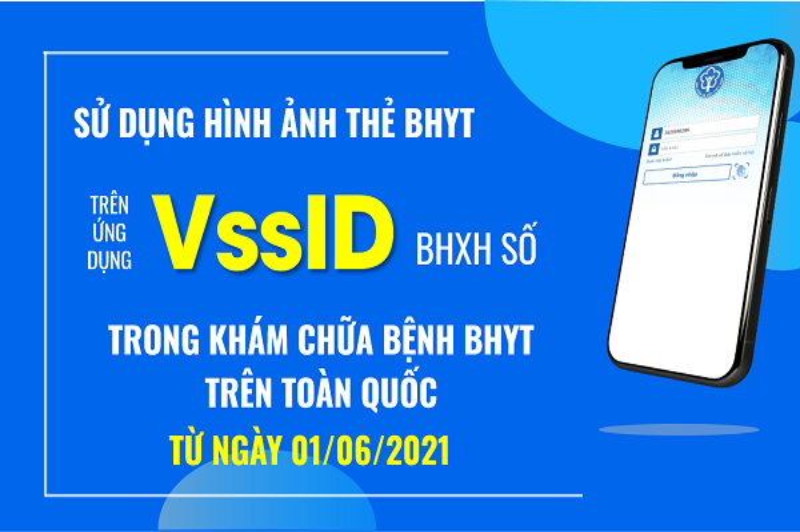 VssID – ứng dụng khám chữa bệnh thay cho thẻ bảo hiểm y tế giấy